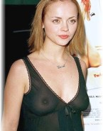 Christina Ricci See Thru Lingerie Nudes 001