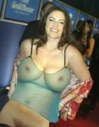 Christine Neubauer Stockings Red Carpet Naked 001
