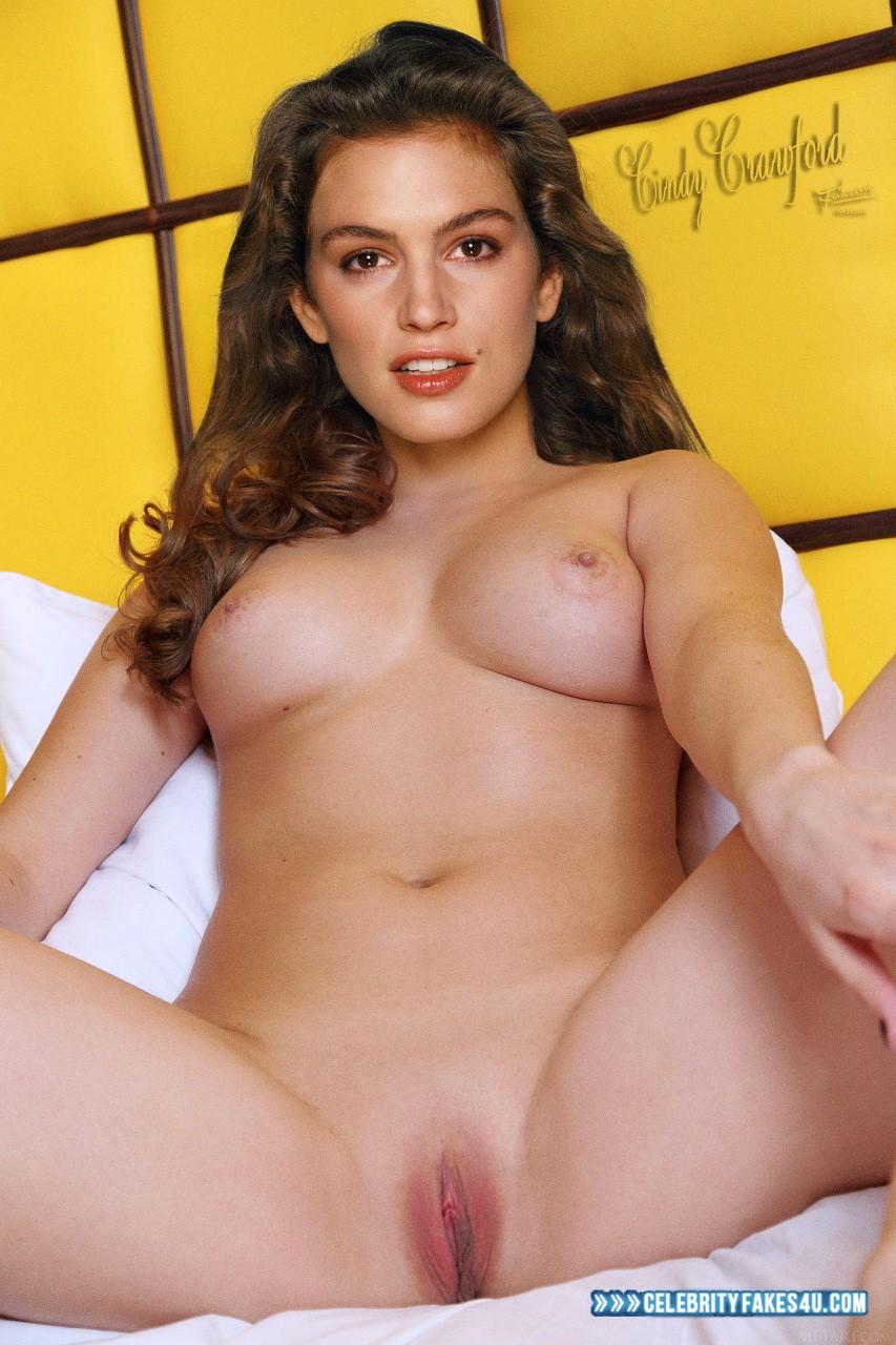 cindy crawford fake nude