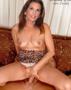 Cindy Crawford Riding Breasts Sex Fake 001