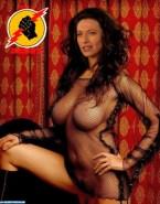 Claudia Black Big Tits Fake 004