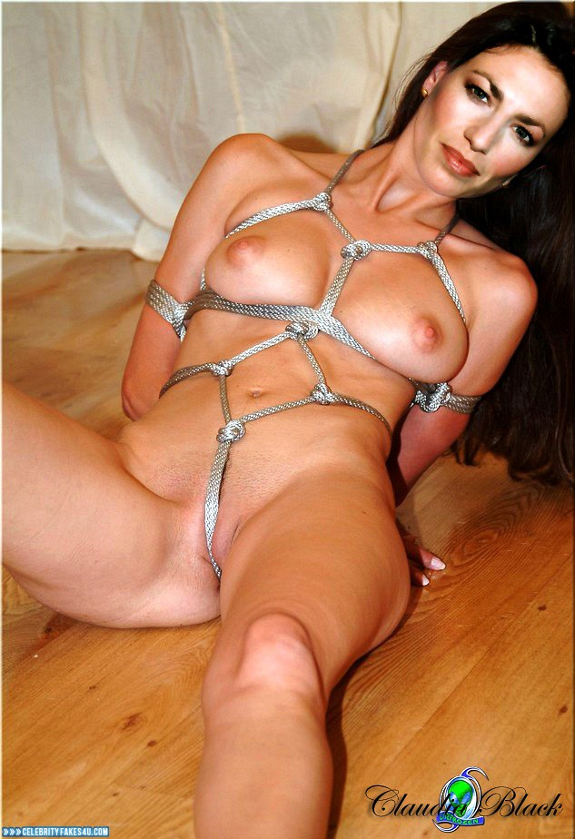 Strung up naked males