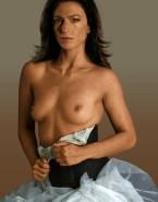 Claudia Black Horny Breasts Fake 001