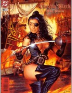 Claudia Black Magazine Cover Cartoon Porn Fake 001