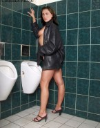 Claudia Black Sideboob Public Xxx Fake 001