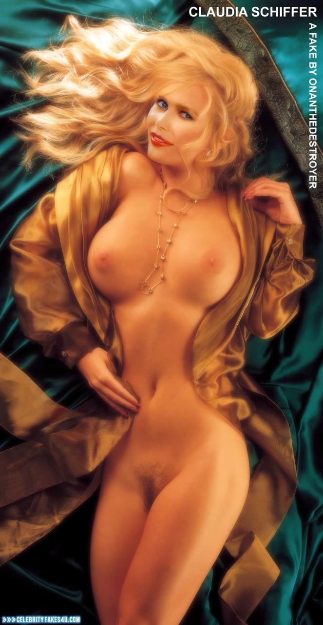 Claudia Schiffer Naked Body Boobs Fake 003 ...