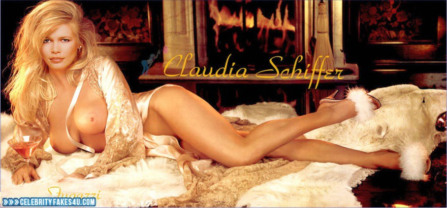 Claudia schiffer fake porn