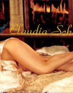 Claudia Schiffer Perfect Tits Naked Fake 001