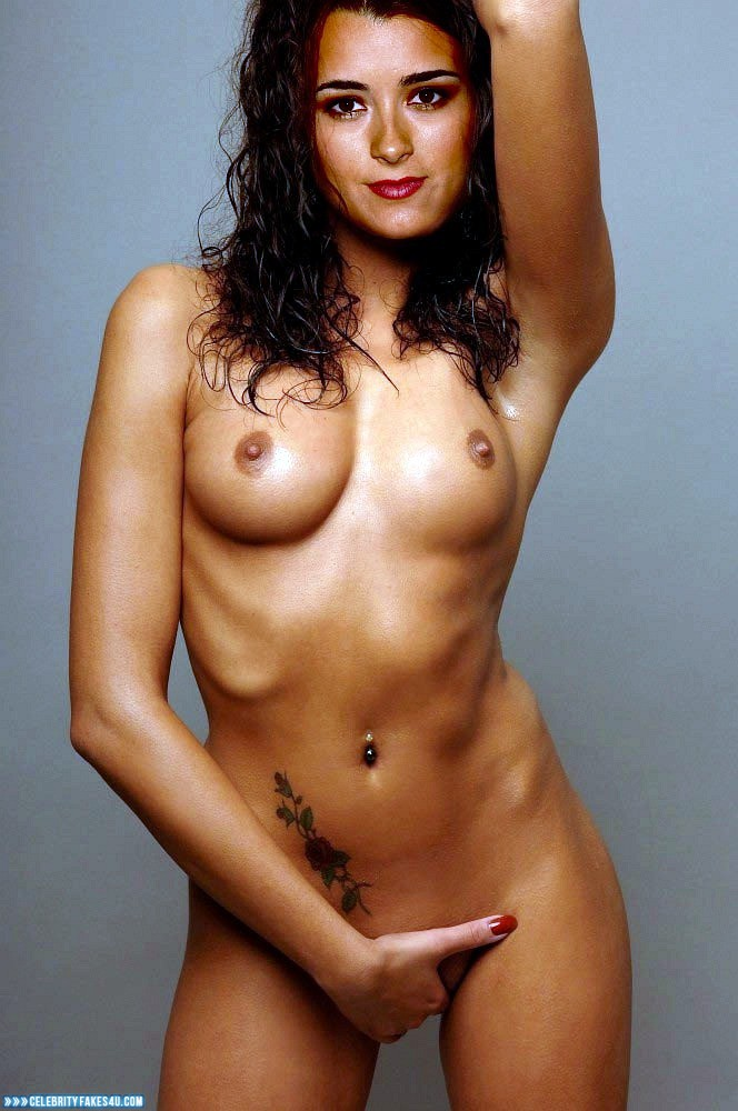 Cote De Pablo Fake, Lipstick, Masturbating, Naked Body, Nude, Pussy, Tattoos, Tits, Porn