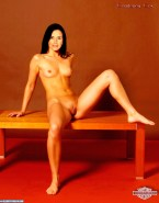 Courteney Cox Small Tits Legs Spread 002