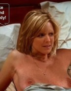 Courtney Thorne Smith Breasts Two And A Half Men Naked Fake 001