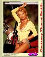 Courtney Thorne Smith Pantieless Boobs Nudes Fake 001