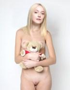 Dakota Fanning Breasts Blonde Naked Fake 002