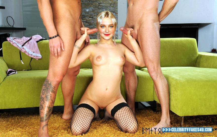 Dakota Fanning Handjob Gangbang Porn Sex Fake 001 ...