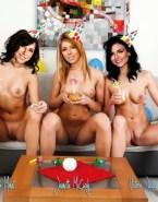 Daniella Monet Lesbian Pussy Exposed Nsfw Fake 001