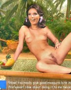 Dawn Wells Panties Aside Pussy Exposed 001