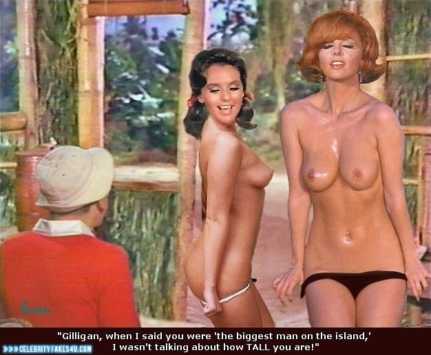 For that Gilligans island fake nude sites