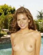 Debra Messing Boobs Naked 001