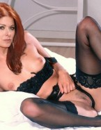 Debra Messing Breasts Panties Aside Naked 001