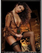 Debra Messing Lingerie Breasts Nsfw 001