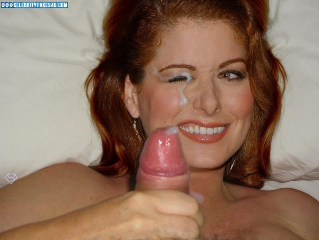 Debra messing fake cumshot