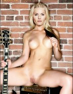 Elisha Cuthbert Pinching Nipples Legs Spread Pussy Naked 001
