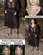 Elisha Cuthbert See Thru Public Naked 001