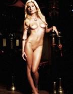 Elizabeth Mitchell Naked Body Tits Fake 001