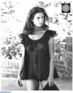 Elizabeth Montgomery See Thru Lingerie Nsfw 001