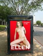 Ellen Pompeo Public Naked Body Fake 001