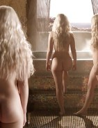 Emilia Clarke Naked in Game of Thrones