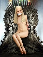 Daenerys Targaryen Game of Thrones Nude Bondage Fake
