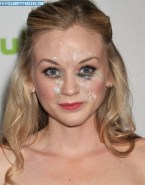Emily Kinney Cumshot Facial 001