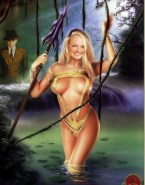 Emma Bunton Cartoon Naked Body 001