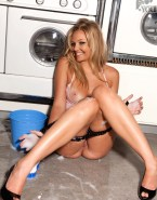 Emma Bunton Panties Down Wet 001
