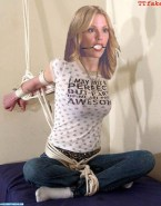 Emma Caulfield Bondage Gagged Nudes Fake 001