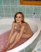 Emma Watson Bathroom Naked Fake 001