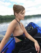 Emma Watson Outdoor Naked Fake 008