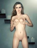 Emma Watson Squeezing Tits Fake 001
