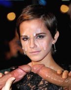 Emma Watson Cum Facial Handjob Nsfw Fake 001