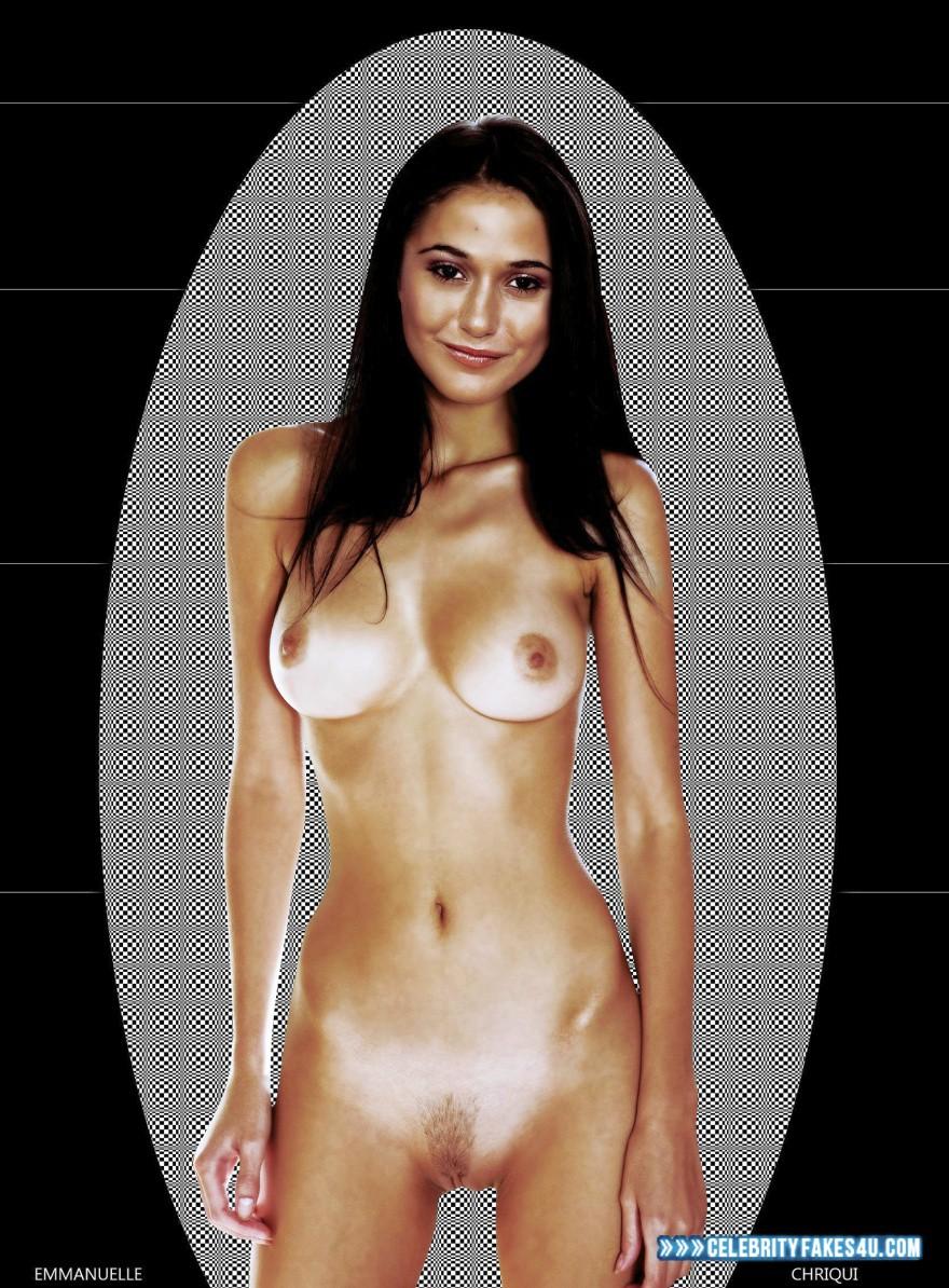 Emmanuelle Chriqui Nude Body Boobs Fake 001 -3574