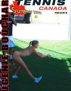 Eugenie Bouchard Naked Body Public Fake 001