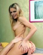 Eva Herzigova Sideboob Spreads Ass Cheeks Naked Sex 001