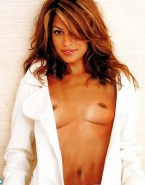 Eva Mendes Exposed Tits 002