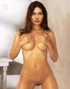 Famke Janssen Boobs Squeezed Naked Fake 001
