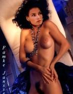 Famke Janssen Breasts Hairy Pussy Fake 001
