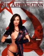 Famke Janssen Costume Movie Cover Naked Fake 001