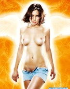Famke Janssen Horny Topless Fake 001