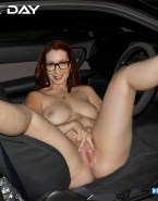 Felicia Day Leaked Spread Pussy Nude 001