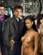 Freema Agyeman Boobs Movie Cover Nude Fake 001
